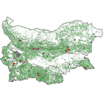 Red wood ants in Bulgaria: distribution ...